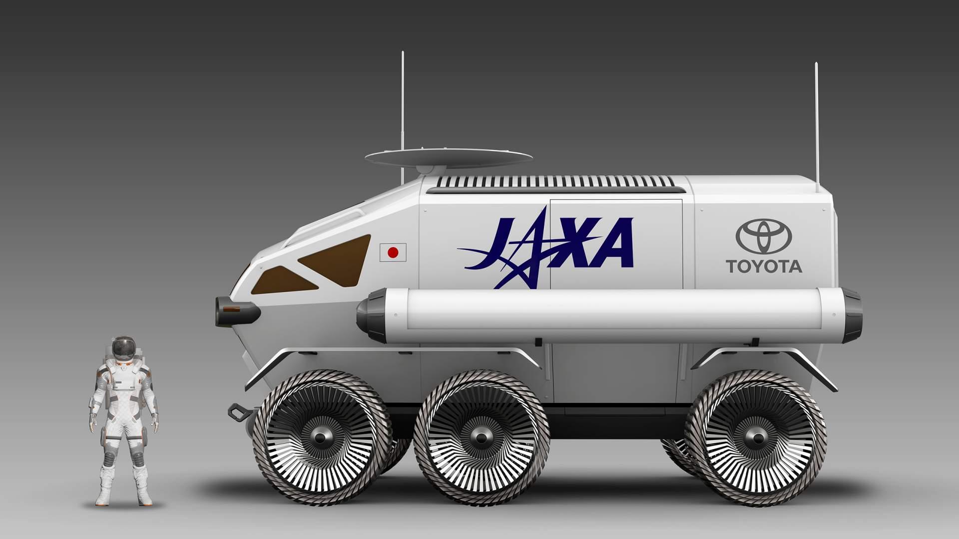 El Lunar Rover es el vehículo con el que Toyota planea