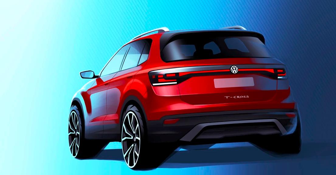 Volkswagen T-Cross llega a Mexico