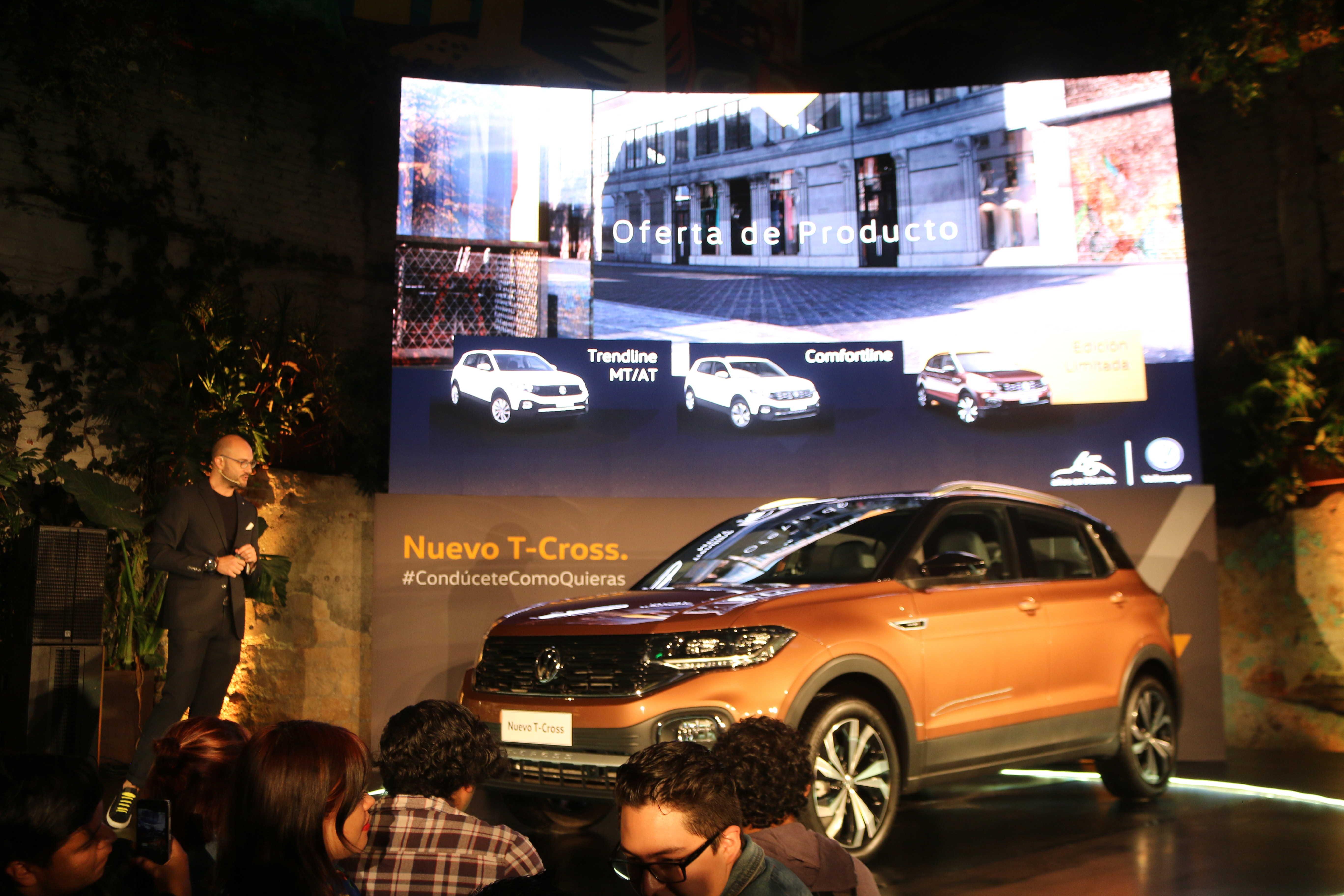 volkswagen t-cross presentacion en mexico
