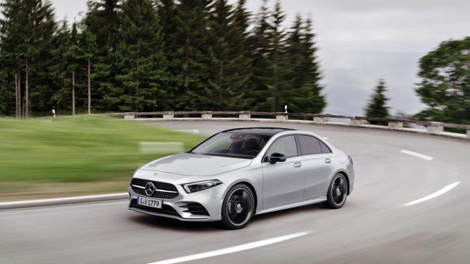 nuevo Mercedes-Benz Clase A Sedán 2020 en todo su esplendor