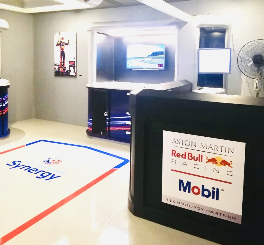 Escape room f1 en Mobil Experience 2019