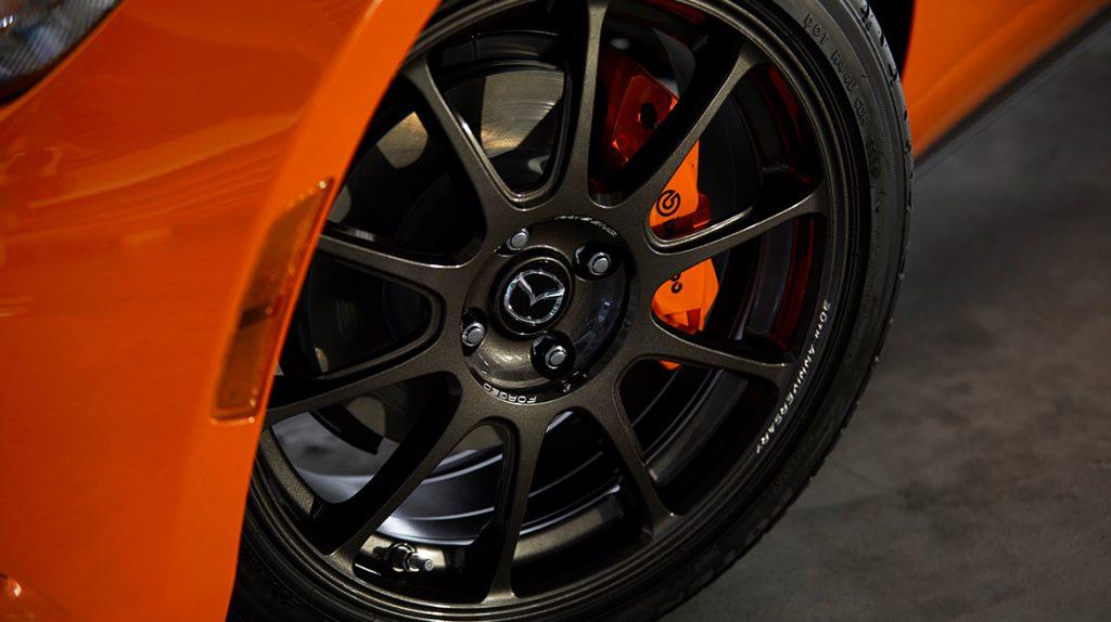 Rines de aluminio con diseño exclusivo para Mazda MX-5 30 aniversario