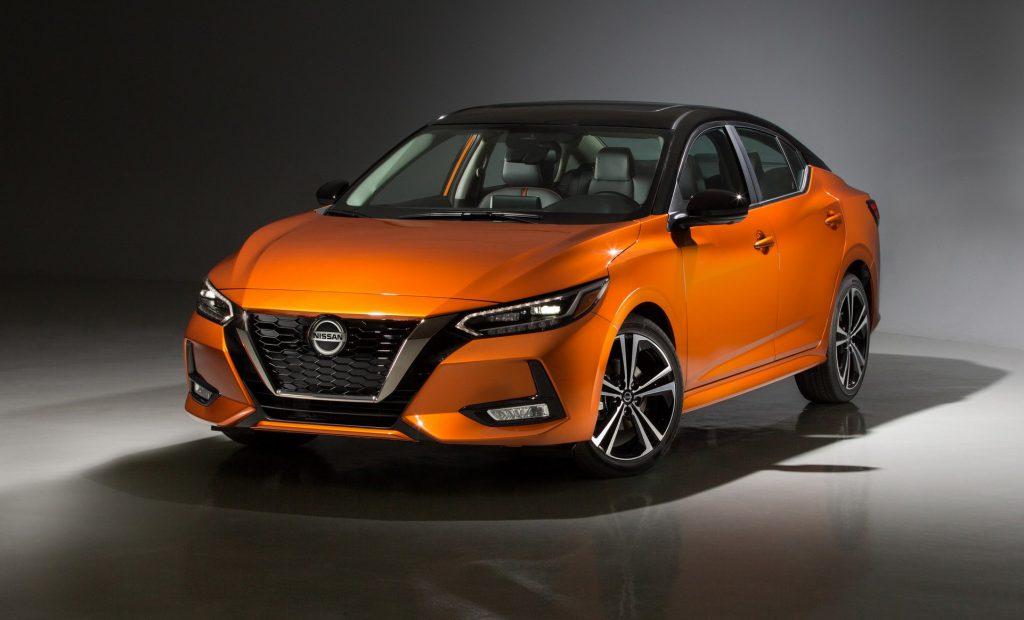 Nissan Sentra 2020 en Auto Show de Los Ángeles 2019