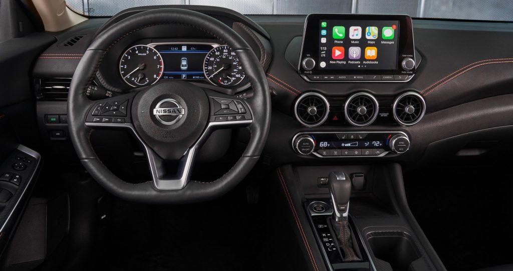 Nissan Sentra 2020 interior