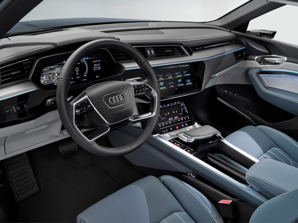 Audi E-Tron Sportback 2020 interior