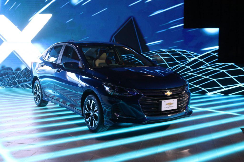 Chevrolet Onix 2020 en presentación de medios