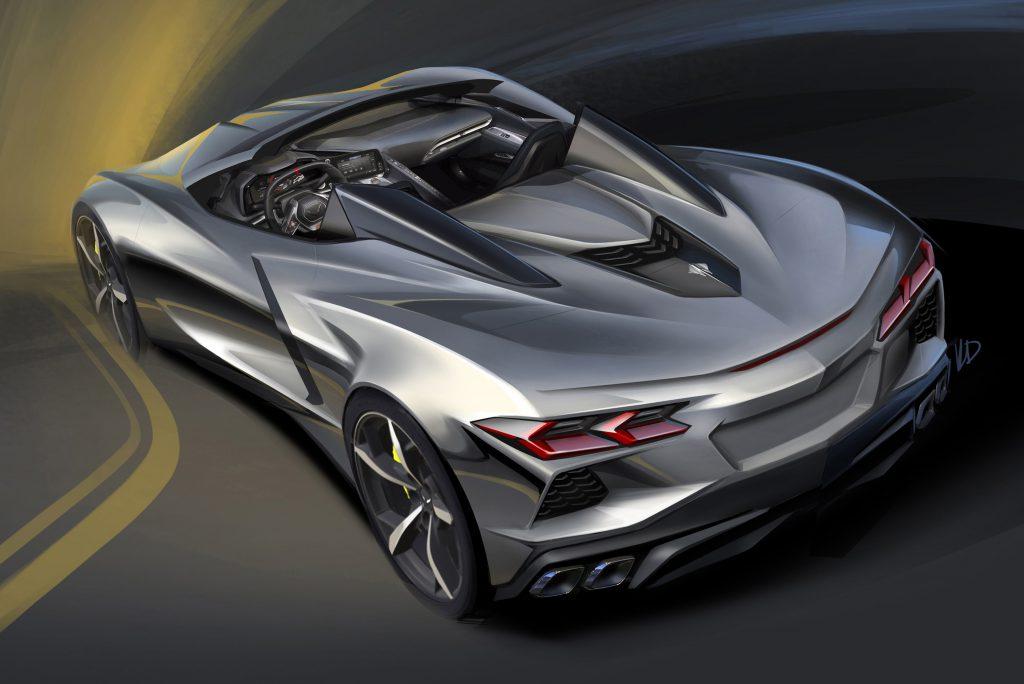 industria automotriz en 2019 Corvette C8