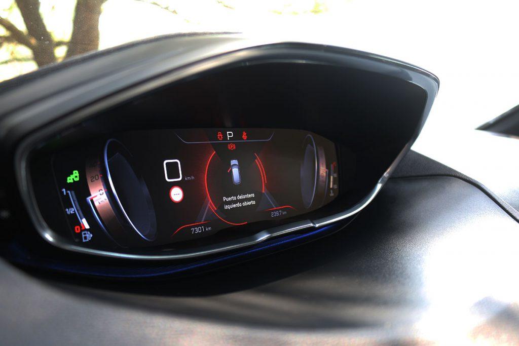 Tablero digital en Peugeot 3008