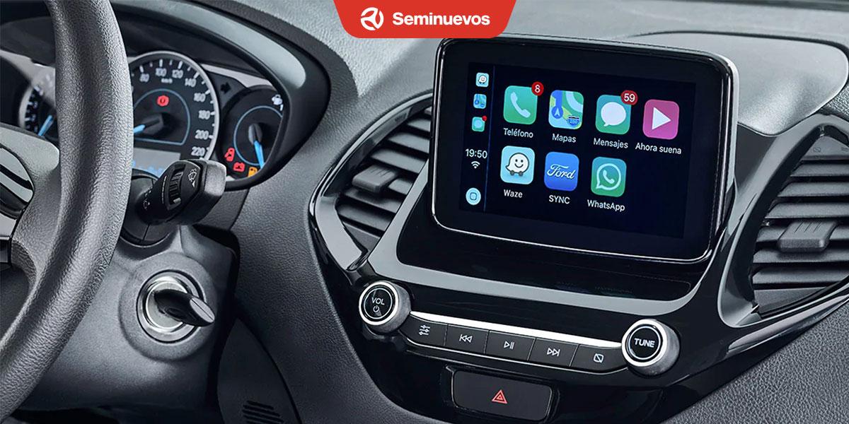 interior Ford Figo 2020