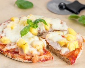 Mini Pineapple Pizzas