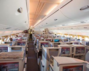 Gulf Air 787 Business Class