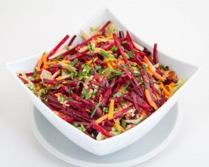 Beet and Carrot Salad with Ginger