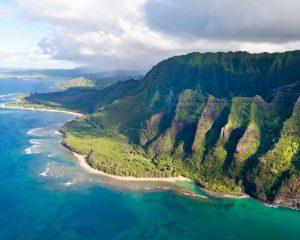 Nā Pali Coast – Kaua'i, Hawaii
