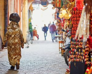 Exploring the Souks in Morocco