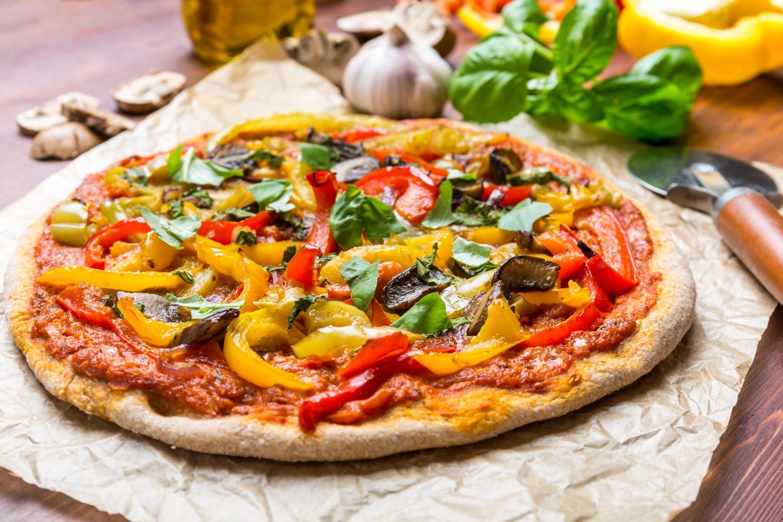 Diabetes-3 Pepper Pizza