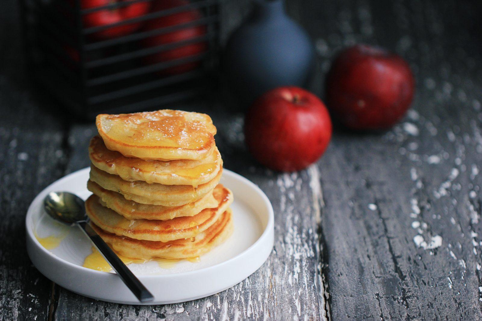 Diabetes-Applesauce Pancakes