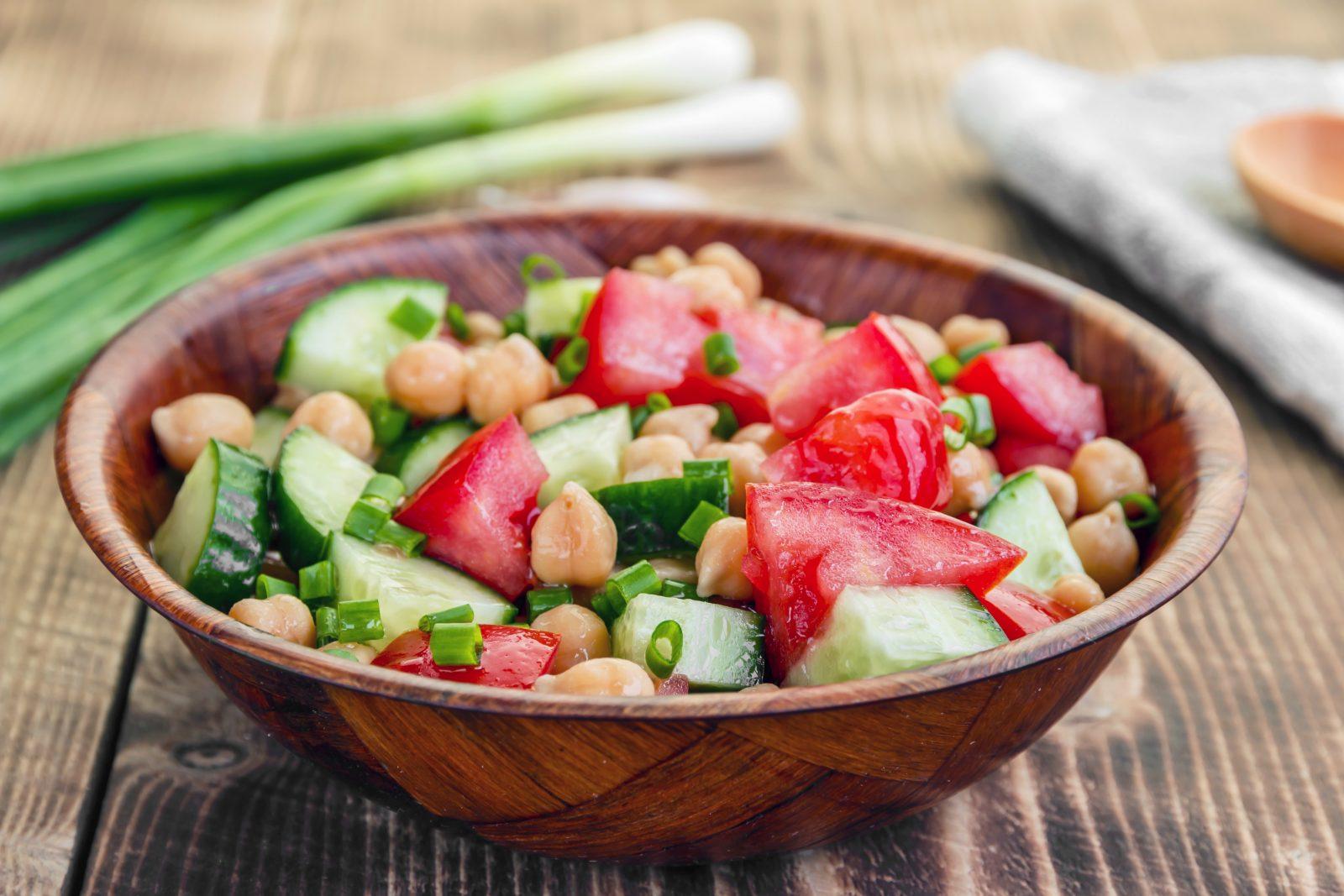 Diabetes-Cucumber Tomato Salad