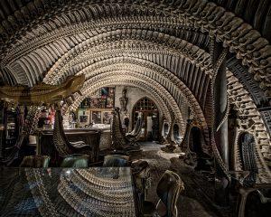 Museum HR Giger Bar – Gruyères, Switzerland