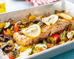 Lemon-Herb Salmon