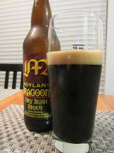 Beer - Moylan's Dragoons Dry Irish Stout