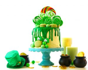 St. Paddy's Day Drip Cake
