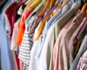1. Clear Your Closet