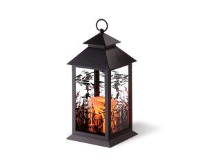 9. LED Witch Lantern