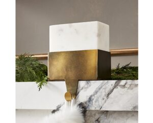 Marble Stocking Holder from CB2