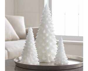 White Tree Candles from Crate&Barrel