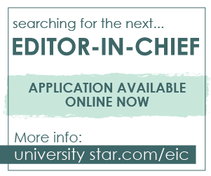 Apply to become the next editor in chief here