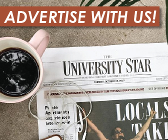 Place an ad with the University Star.