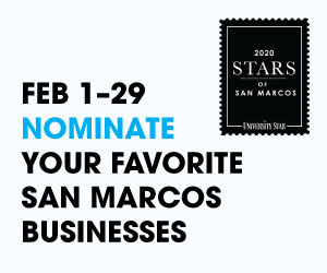 Nominate your favorite business for Stars of San Marcos.