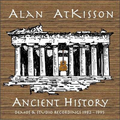 Ancient History: Demos & Studio Recordings 1982-1995 Cover