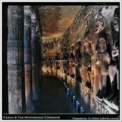 Farah & the Mysterious Corridor Cover
