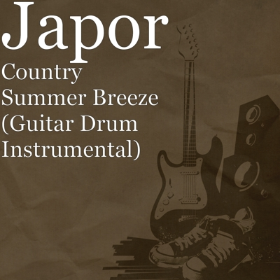 Country Summer Breeze (Guitar Drum Instrumental) Cover