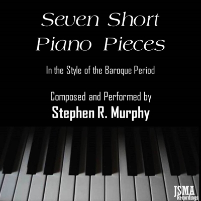 Seven Short Pieces for Piano Cover
