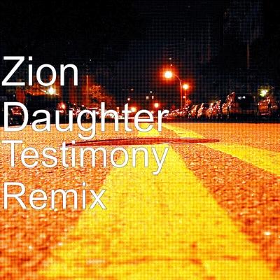Testimony (Remix) Cover