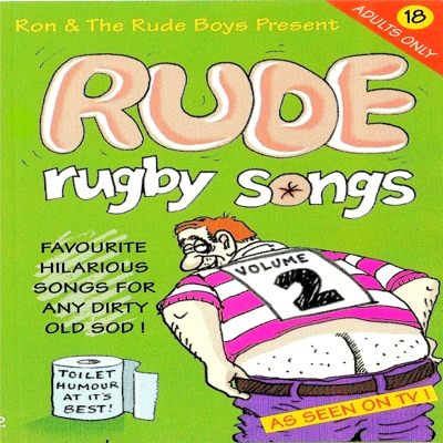 Rude Rugby Songs Volume 2 Cover