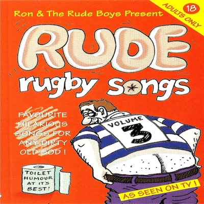 Rude Rugby Songs Volume 3 Cover