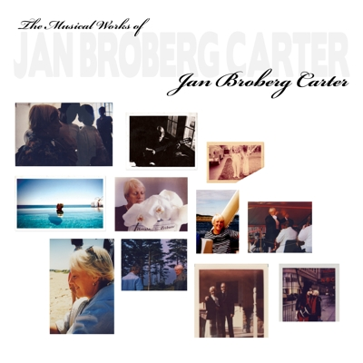 The Musical Works of Jan Broberg Carter Cover