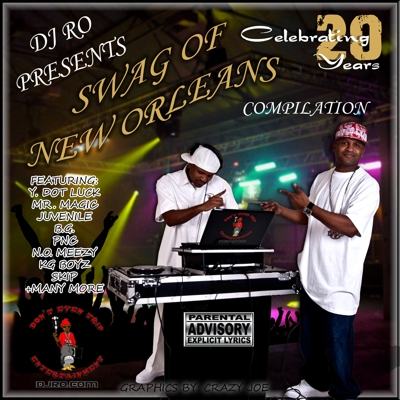 DJ Ro Presents the Swag of New Orleans Compilation Cover