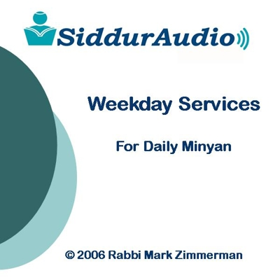 Siddur Audio - Weekday Services for Daily Minyan Cover