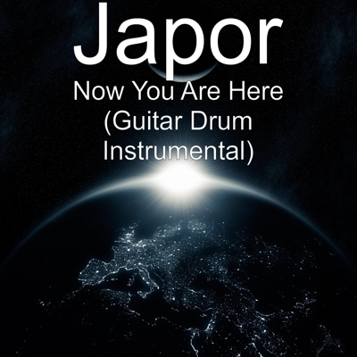 Now You Are Here (Guitar Drum Instrumental) Cover