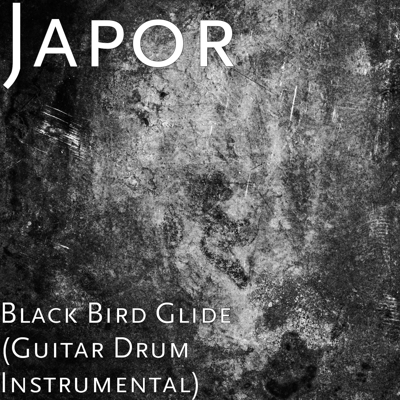 Black Bird Glide (Guitar Drum Instrumental) Cover