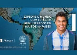 Explore o mundo com estágios remunerados em mais de 80 países