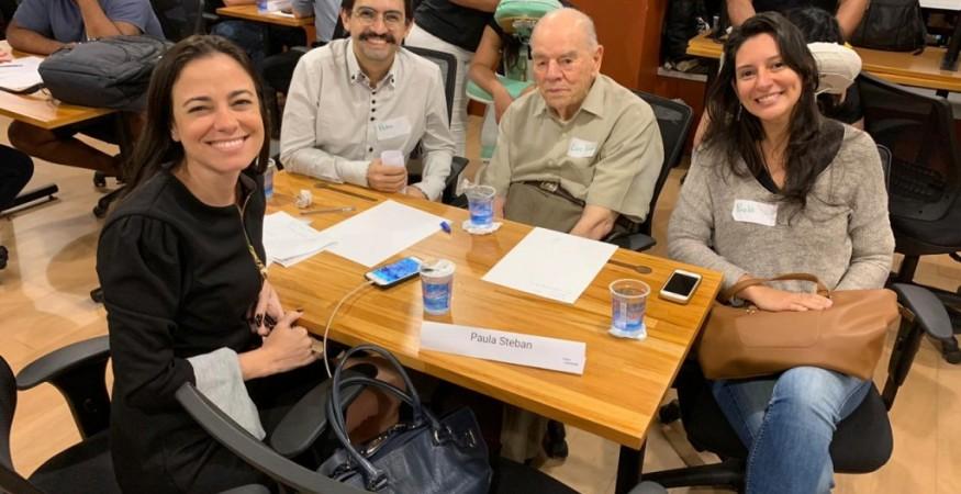 Paula Esteban, participa do BNDES Garagem no dia 27 de junho.