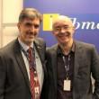 Marcelo Lourenço, Reitor do Ibmec RJ, ao lado de Alexandre Wolwacz Stormer