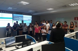 Alunos do Ibmec realizaram visita técnica ao Aeroporto de Confins