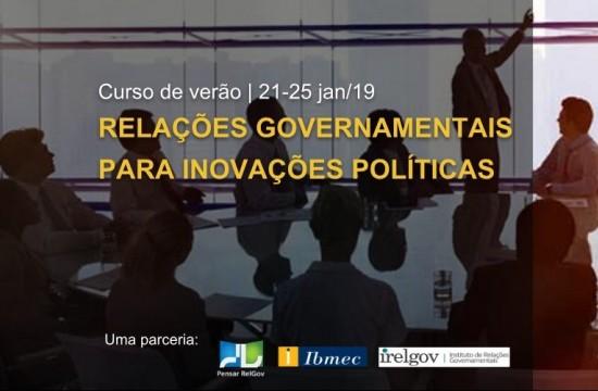 Relações Governamentais para Inovações Políticas