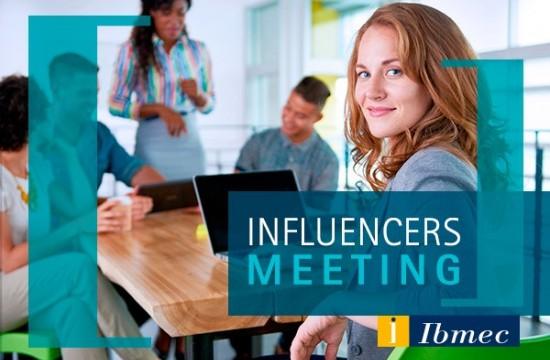 Influencers Meeting no Ibmec São Paulo